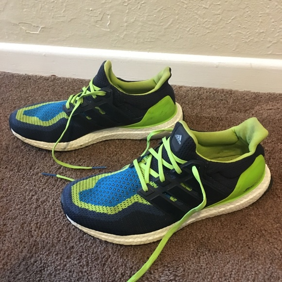 adidas ultra boost blue green